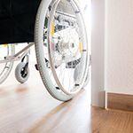 Logement inadapté aux handicapés, si les défauts ne sont pas considérés comme graves aucun retour en arrière n'est possible.